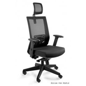 Fotel biurowy NEZ Czarny