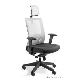 Fotel biurowy NEZ Jasno Szary