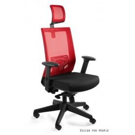 Fotel biurowy NEZ Czerwony