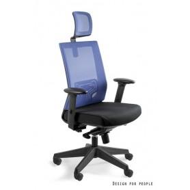 Fotel biurowy NEZ Niebieski