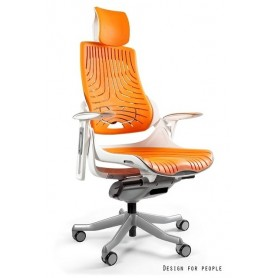 Fotel biurowy WAU Biały -...