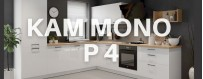 Meble kuchenne Kam Mono P4 w połysku lub w macie. Meble modułowe KAM.