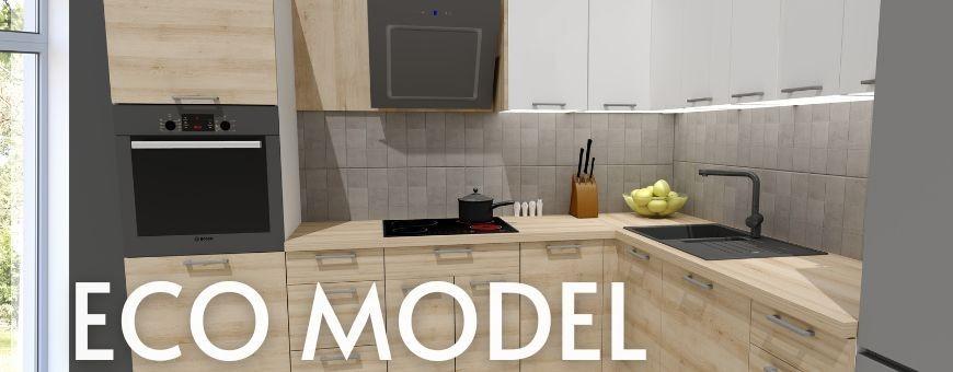 Eco MODEL - Meble Kuchenne na każdą kieszeń. Fronty na wysoki połysk lub mat.